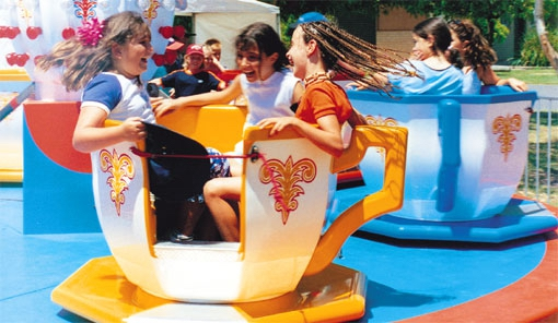 Fun Fair Funfair Cup & Saucer ride party hire