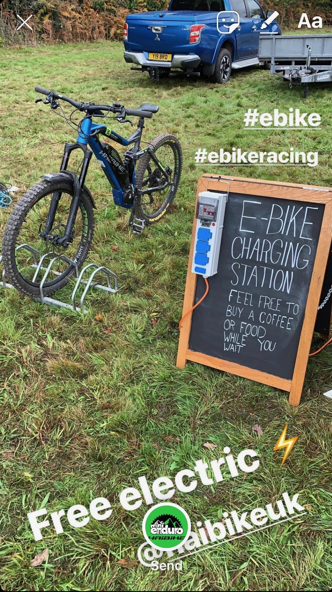 Free Fun E Bike charging station
