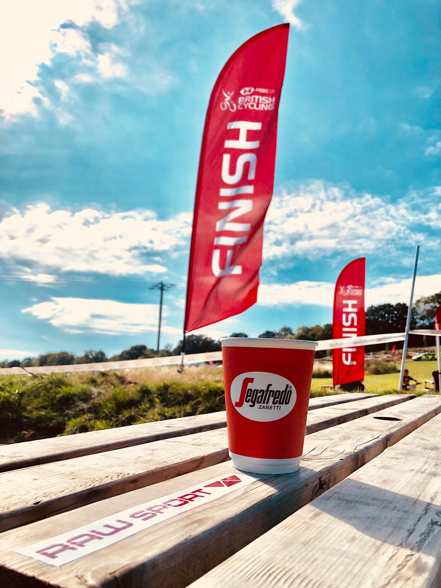 British Cycling Segafredo coffee arty picture