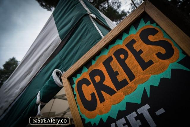 Crepe Black Board Sign